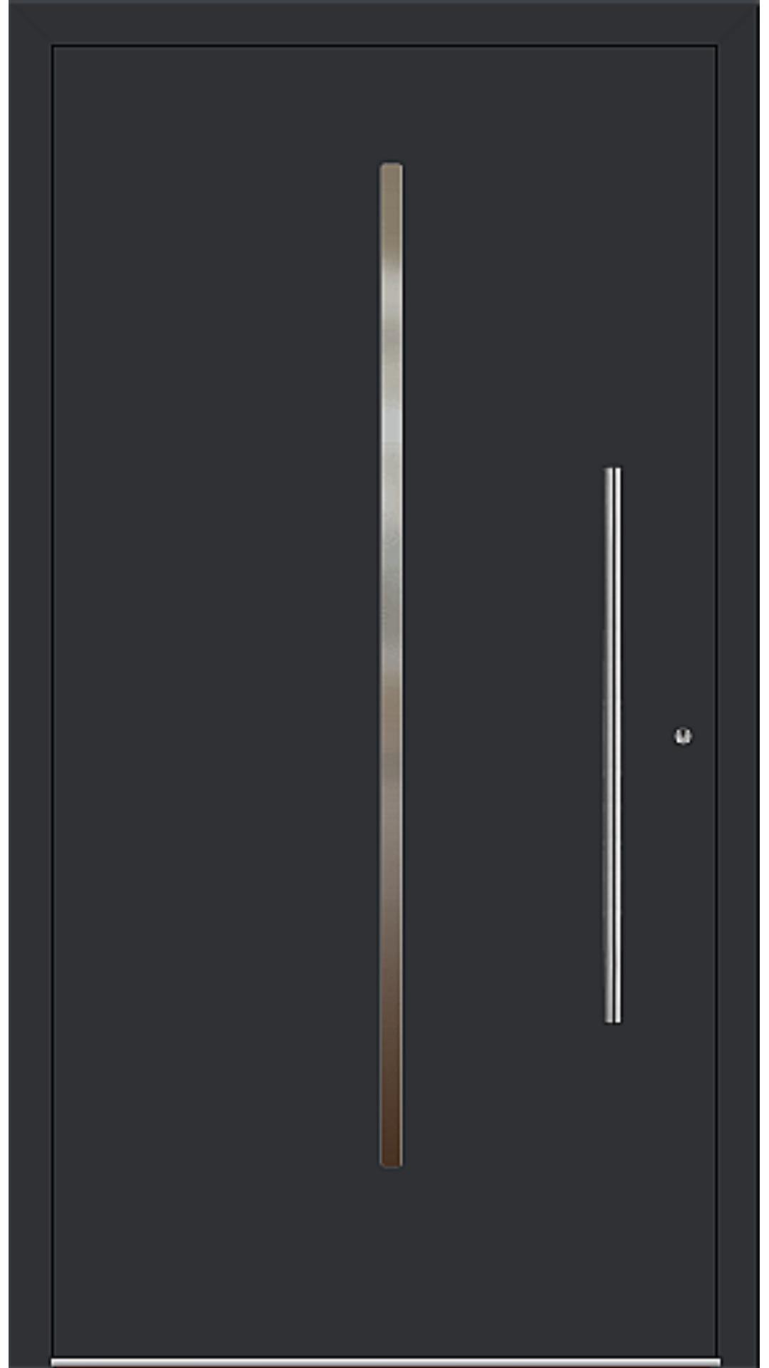 PaXentrée Aluminium Haustür M01101 schwarz