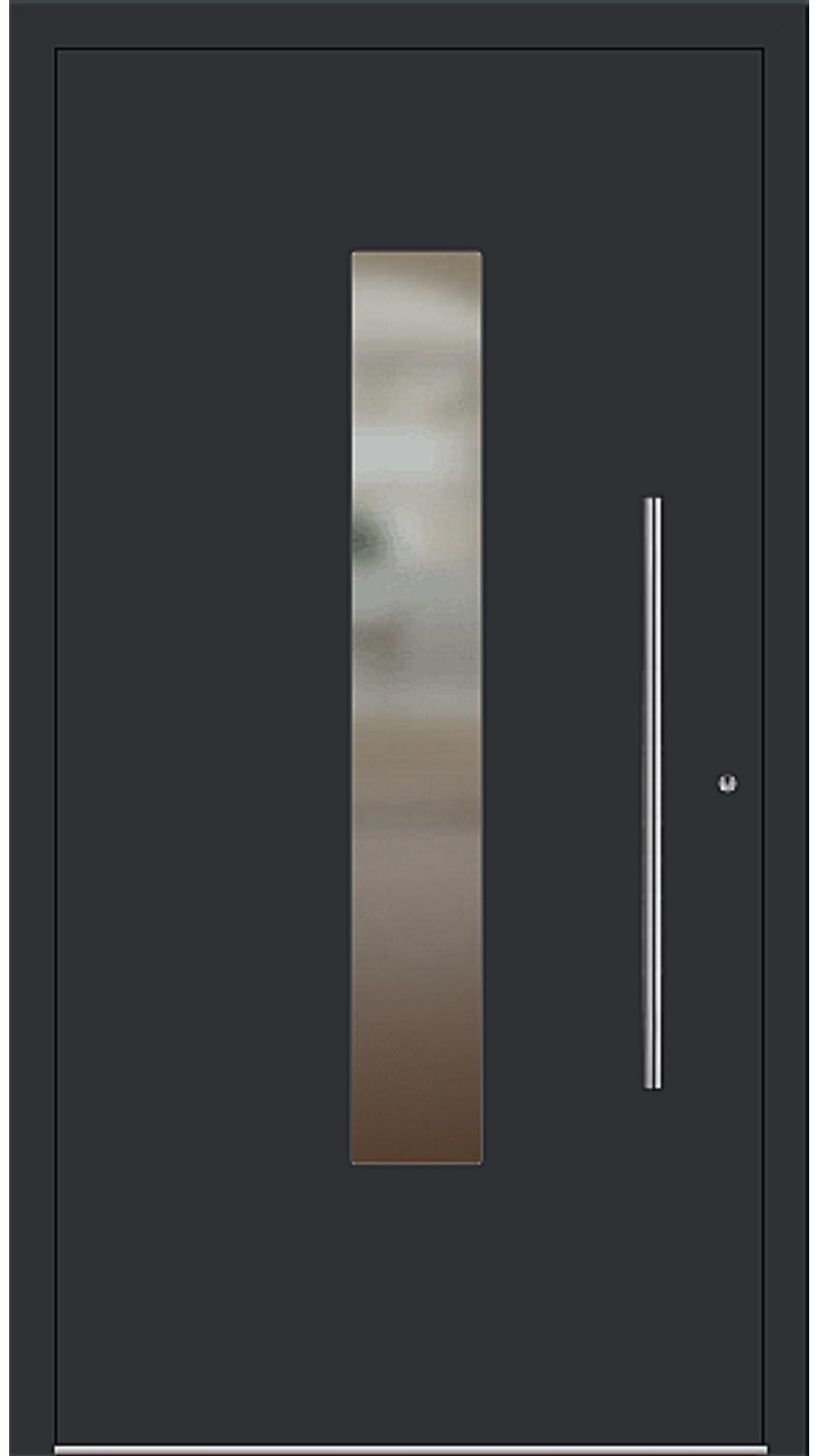 PaXentrée Aluminium Haustür M01210 schwarz