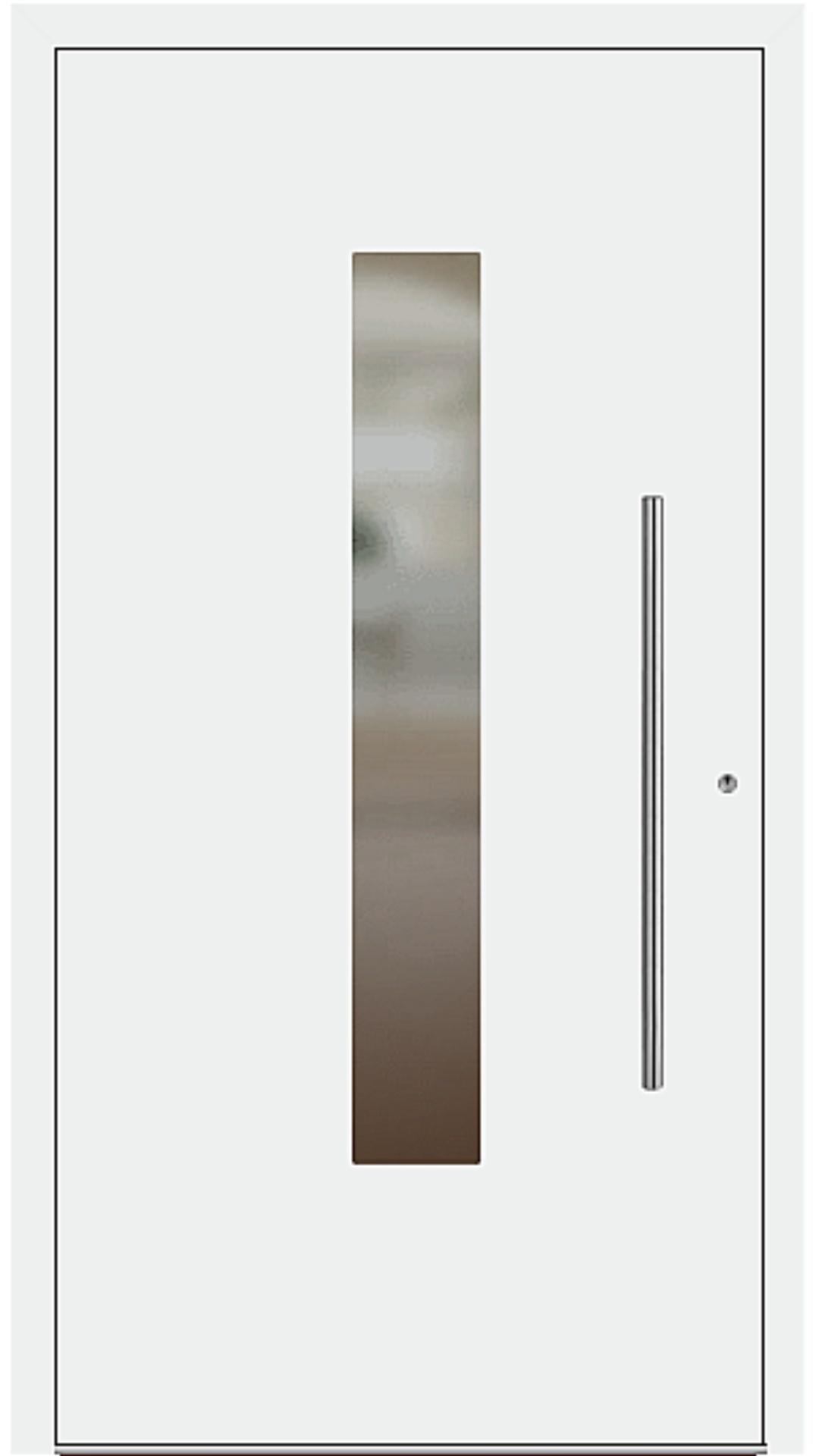 PaXentrée Aluminium Haustür M01210 weiß
