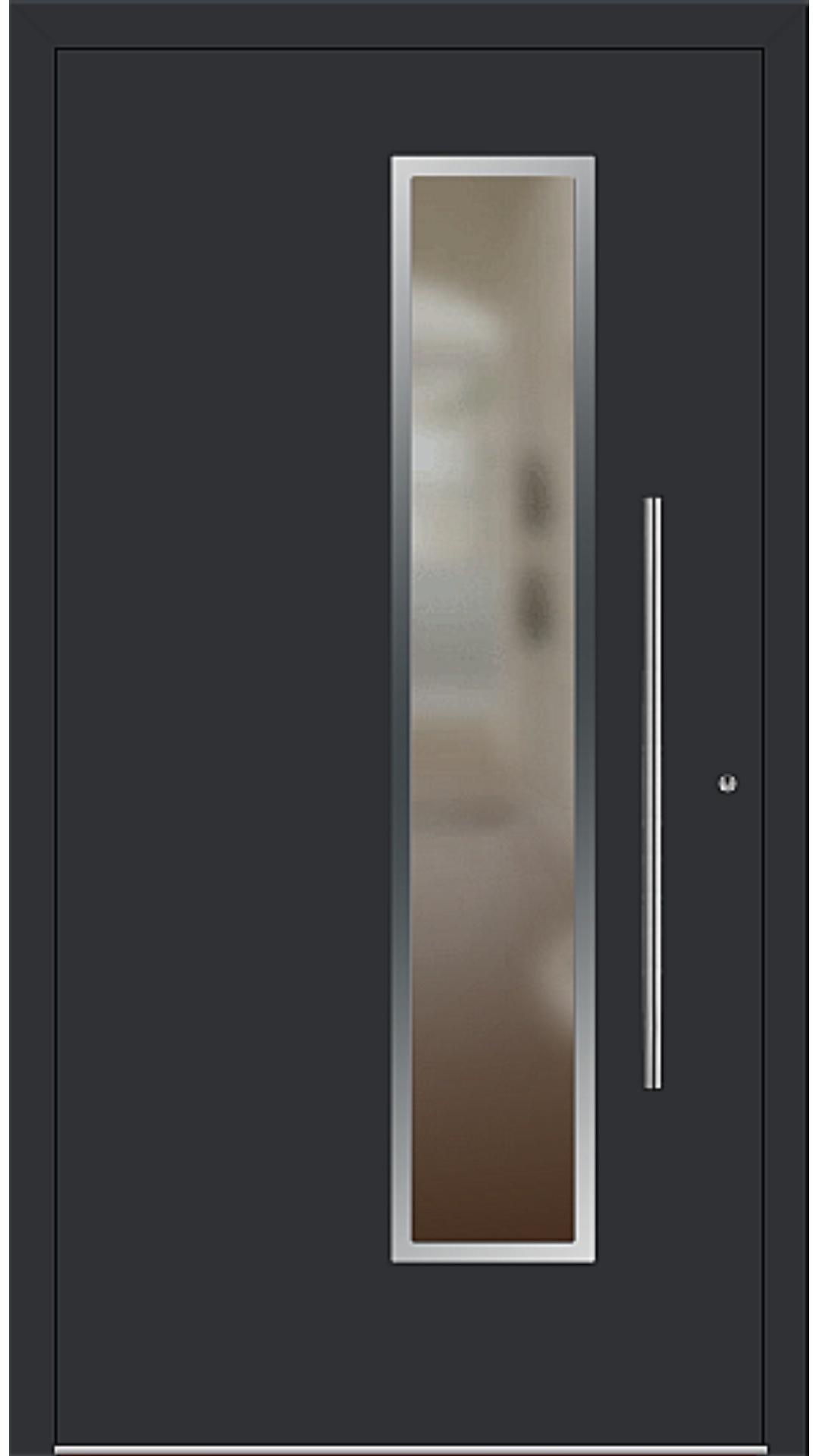 PaXentrée Aluminium Haustür M01231 schwarz