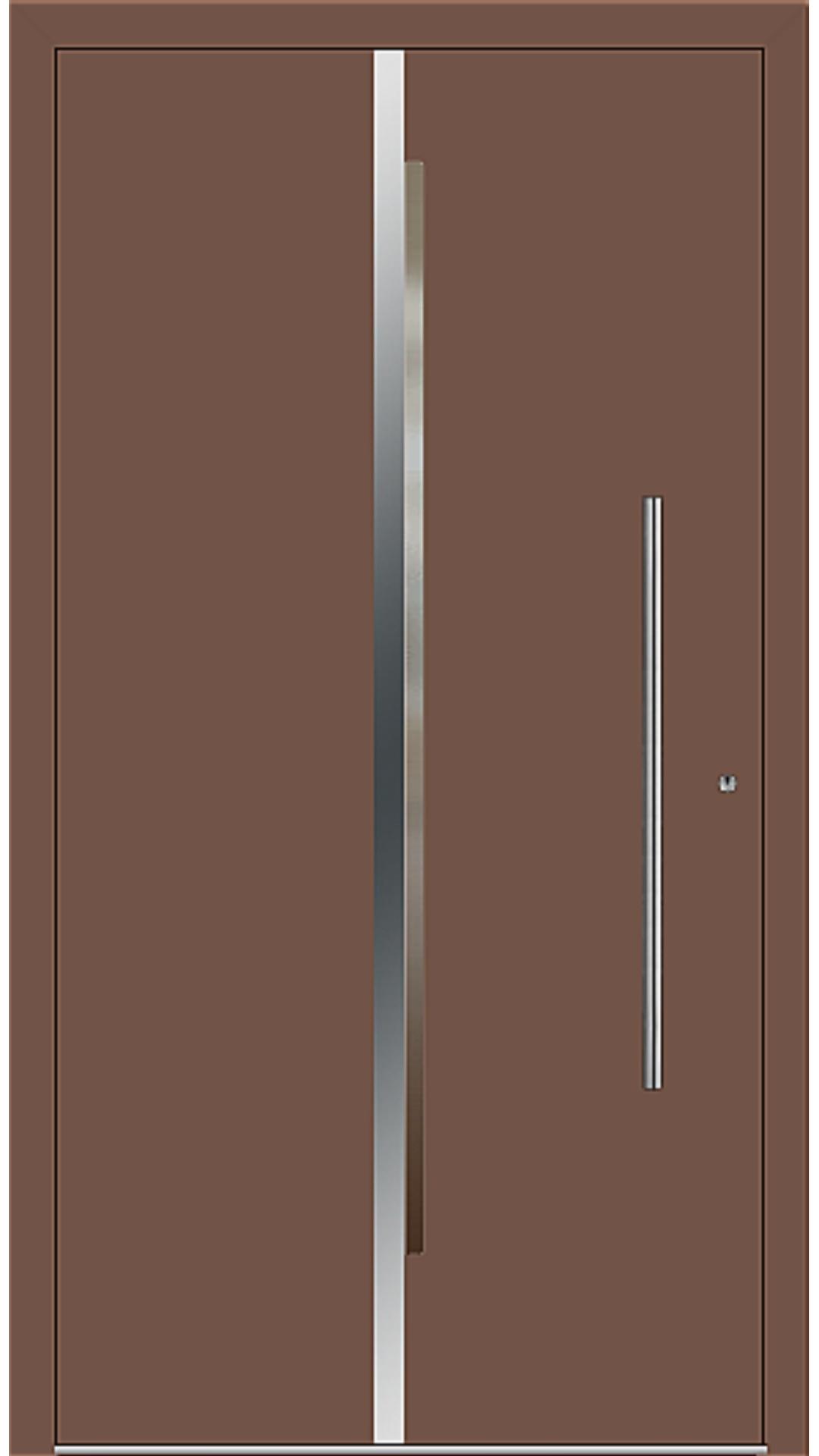 PaXentrée Aluminium Haustür M02201 lehmbraun
