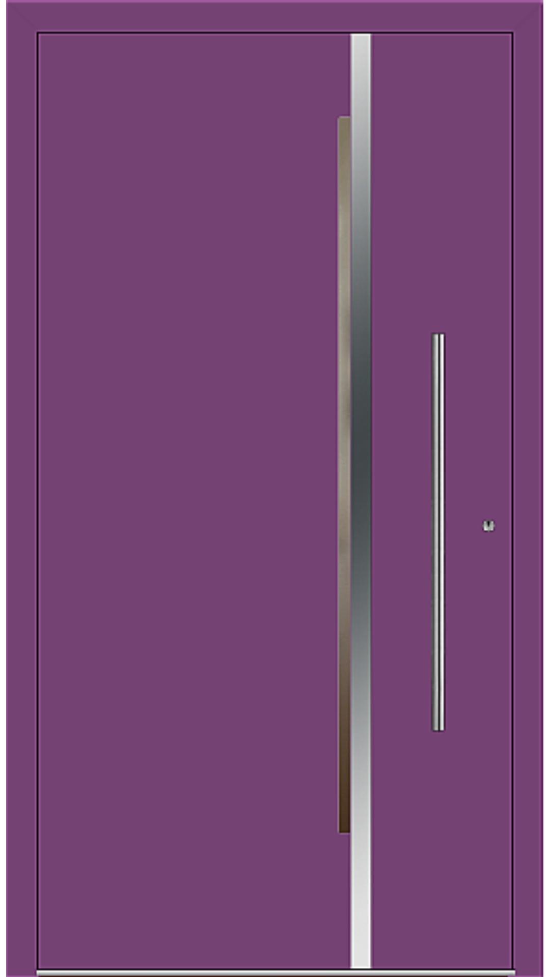 PaXentrée Aluminium Haustür M02211 singalviolett