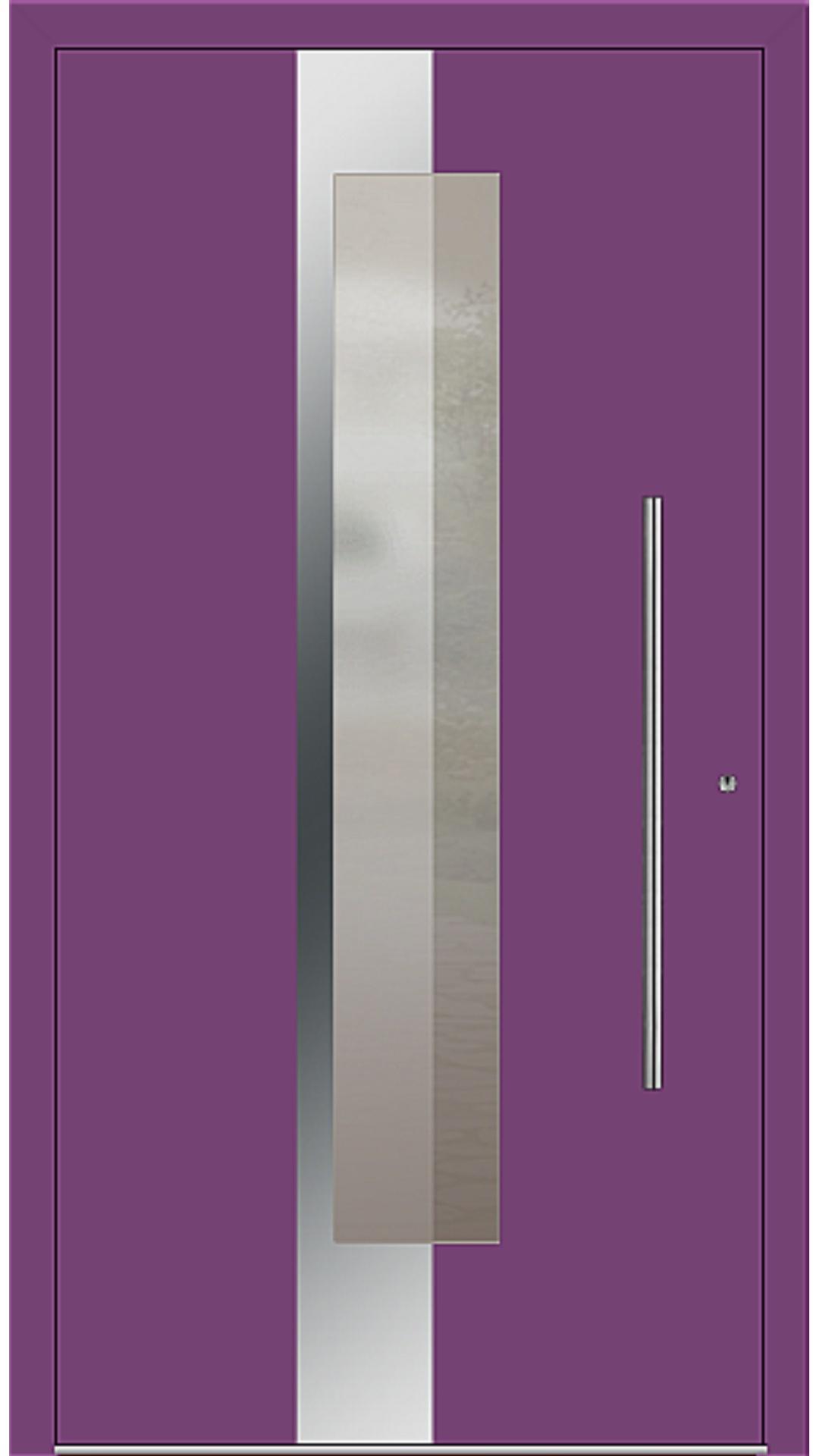 PaXentrée Aluminium Haustür M02240 singalviolett