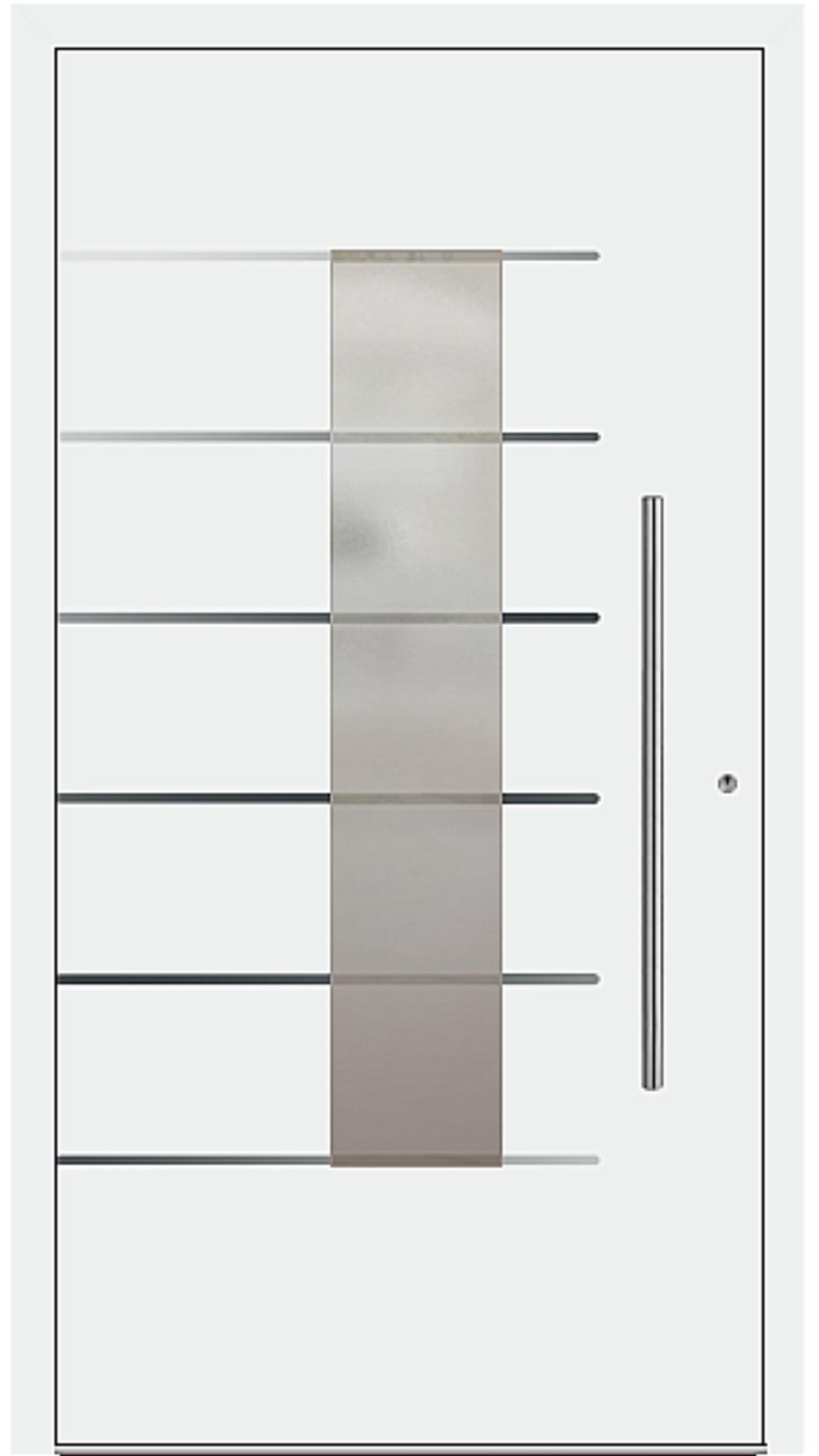 PaXentrée Aluminium Haustür M02501 weiß