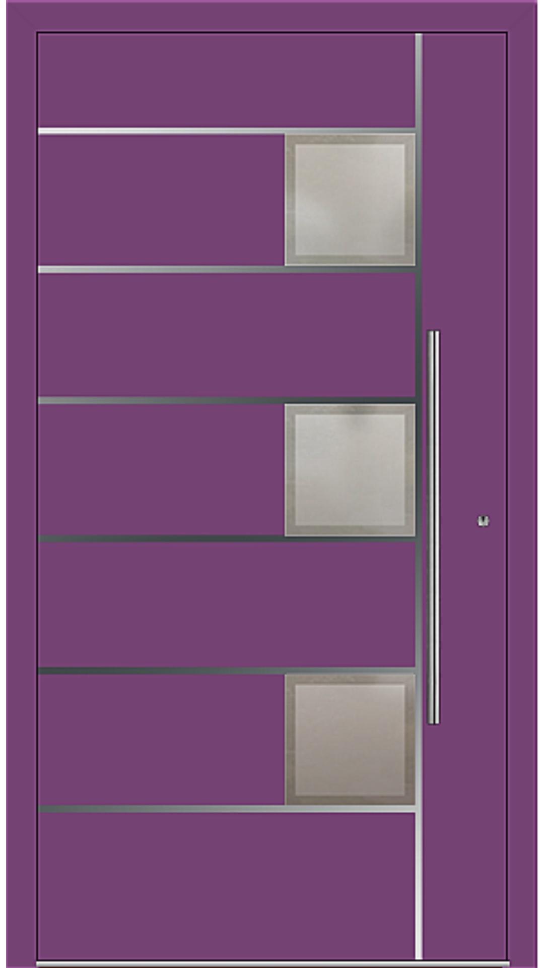 PaXentrée Aluminium Haustür M04341 singalviolett