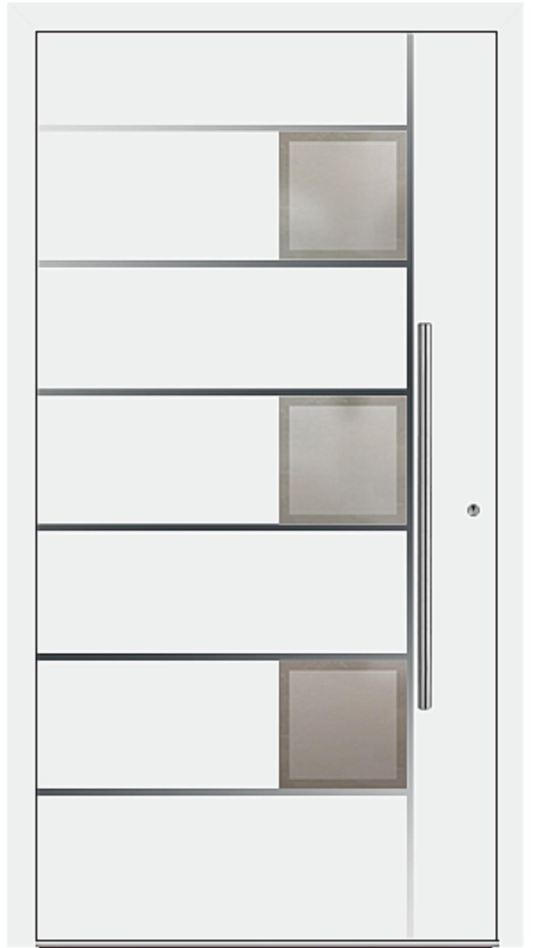 PaXentrée Aluminium Haustür M04341 weiß