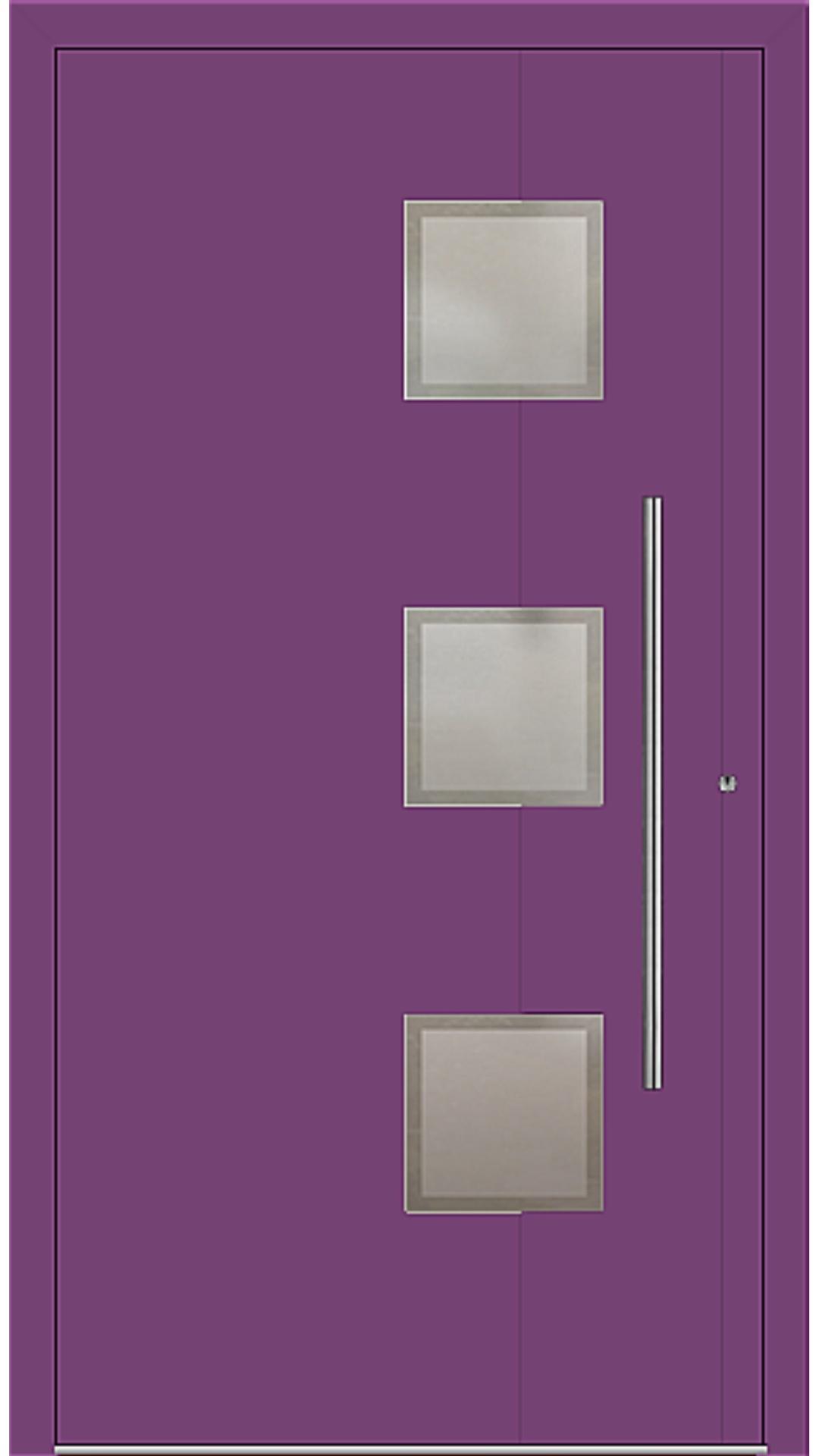 PaXentrée Aluminium Haustür M04350 singalviolett
