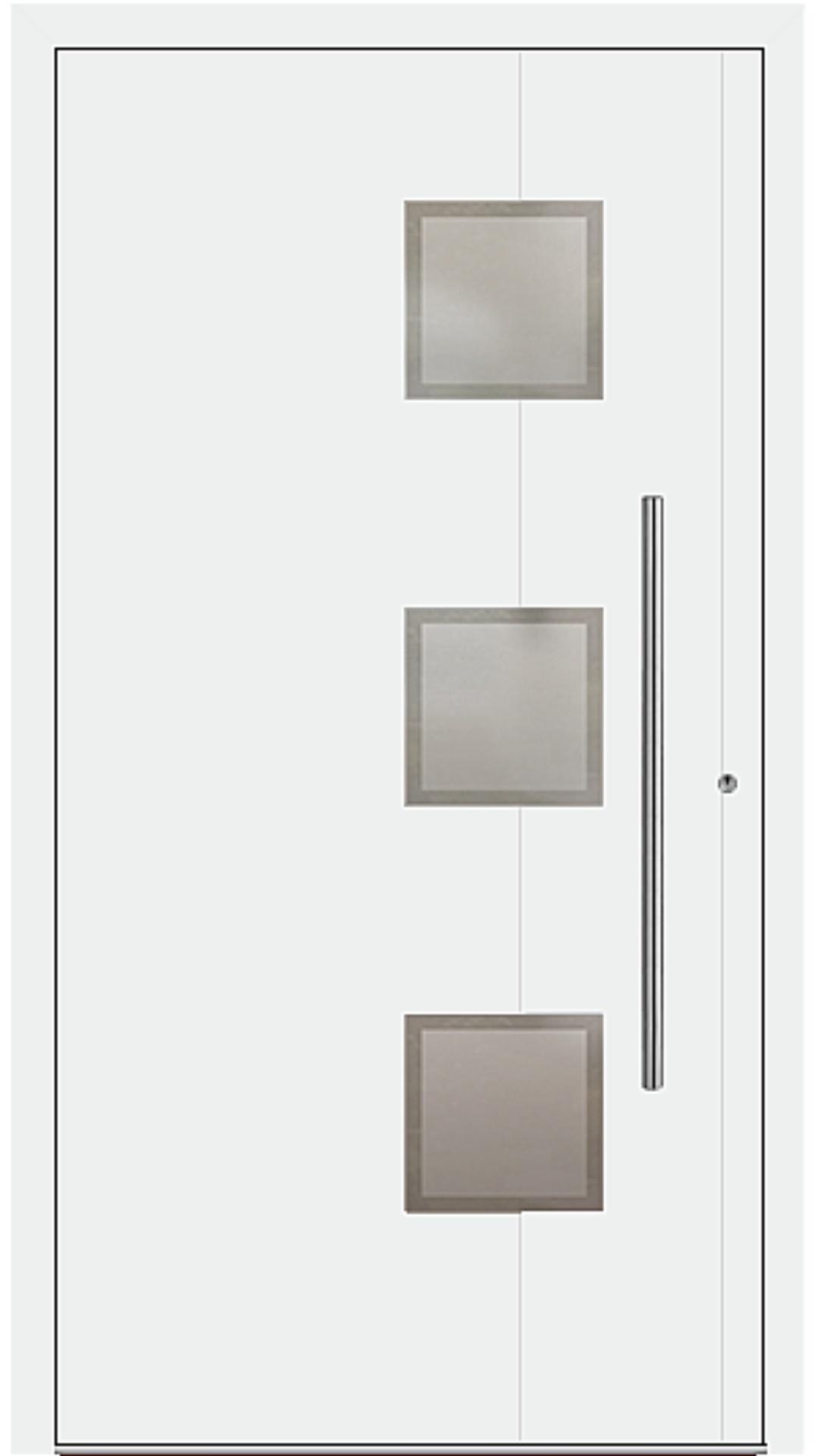 PaXentrée Aluminium Haustür M04350 weiß