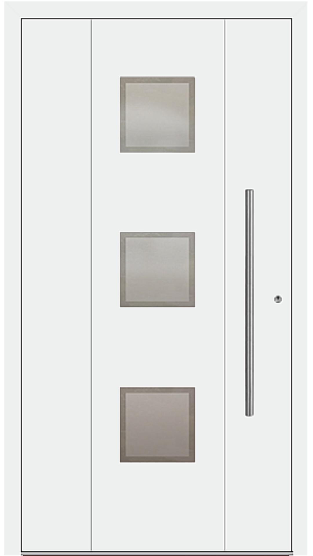 PaXentrée Aluminium Haustür M04360 weiß