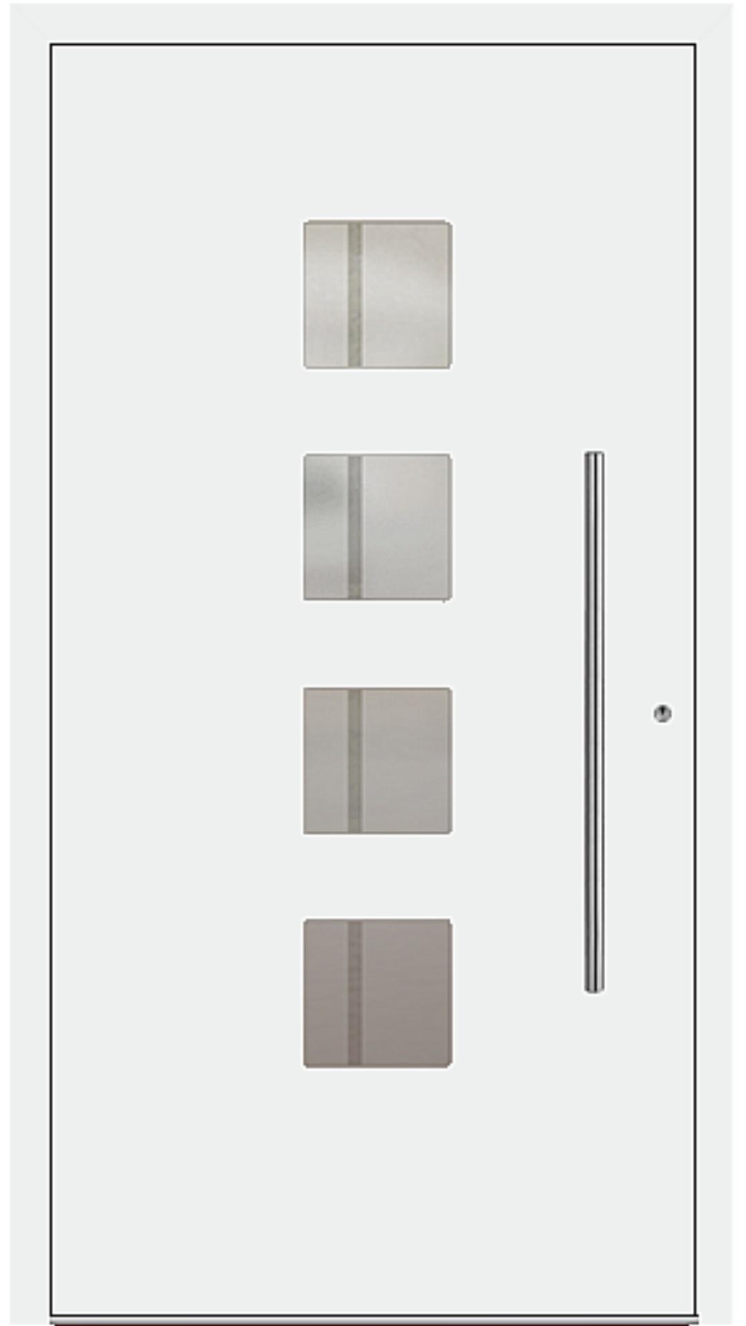 PaXentrée Aluminium Haustür M04400 weiß