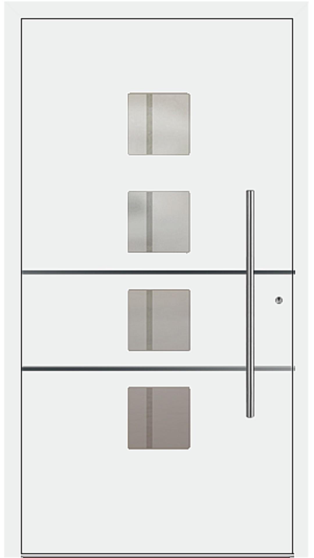 PaXentrée Aluminium Haustür M04450 weiß