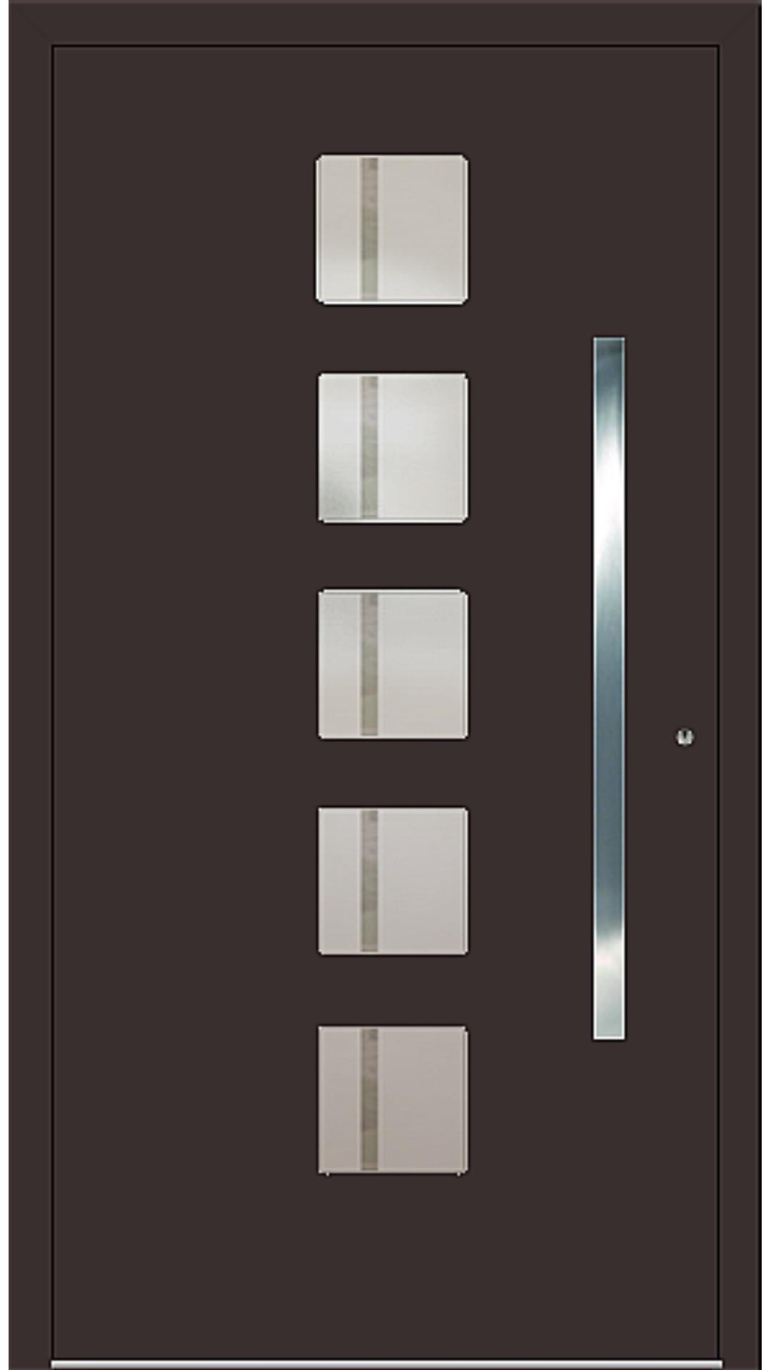 PaXentree Aluminium Haustür M04500 schokoladenbraun
