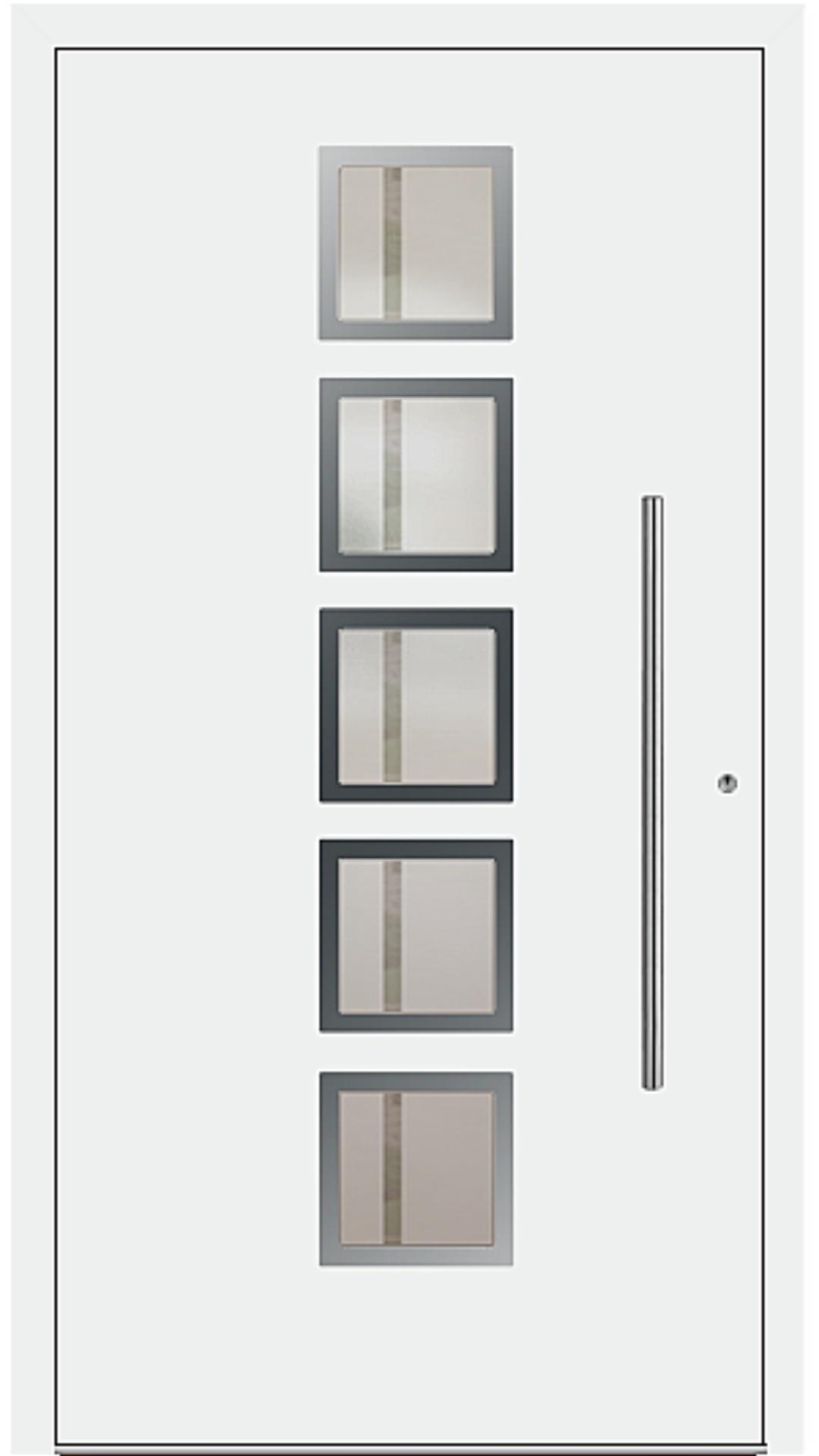 PaXentrée Aluminium Haustür M04501 weiß