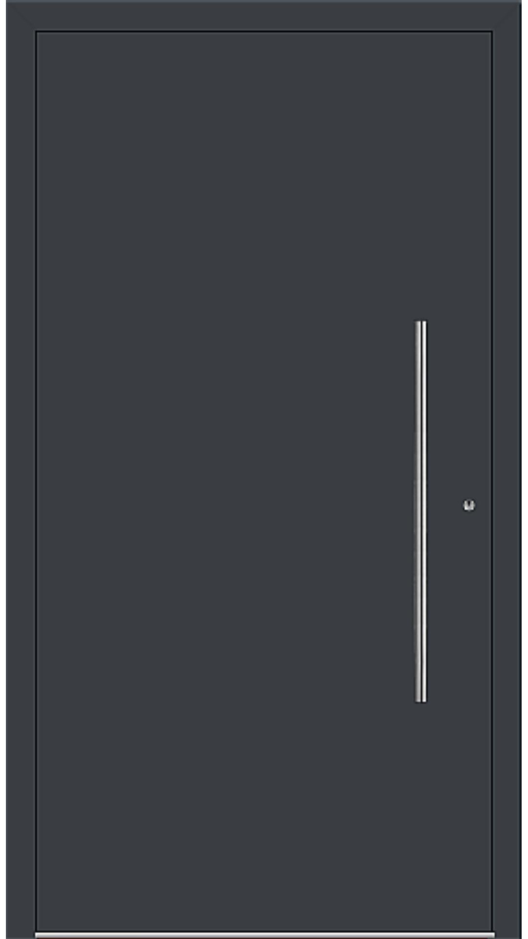 PaXentrée Aluminium Haustür M06001 anthrazitgrau