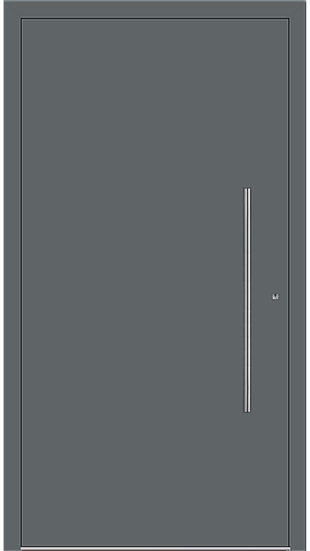 PaXentrée Aluminium Haustür M06001 basaltgrau