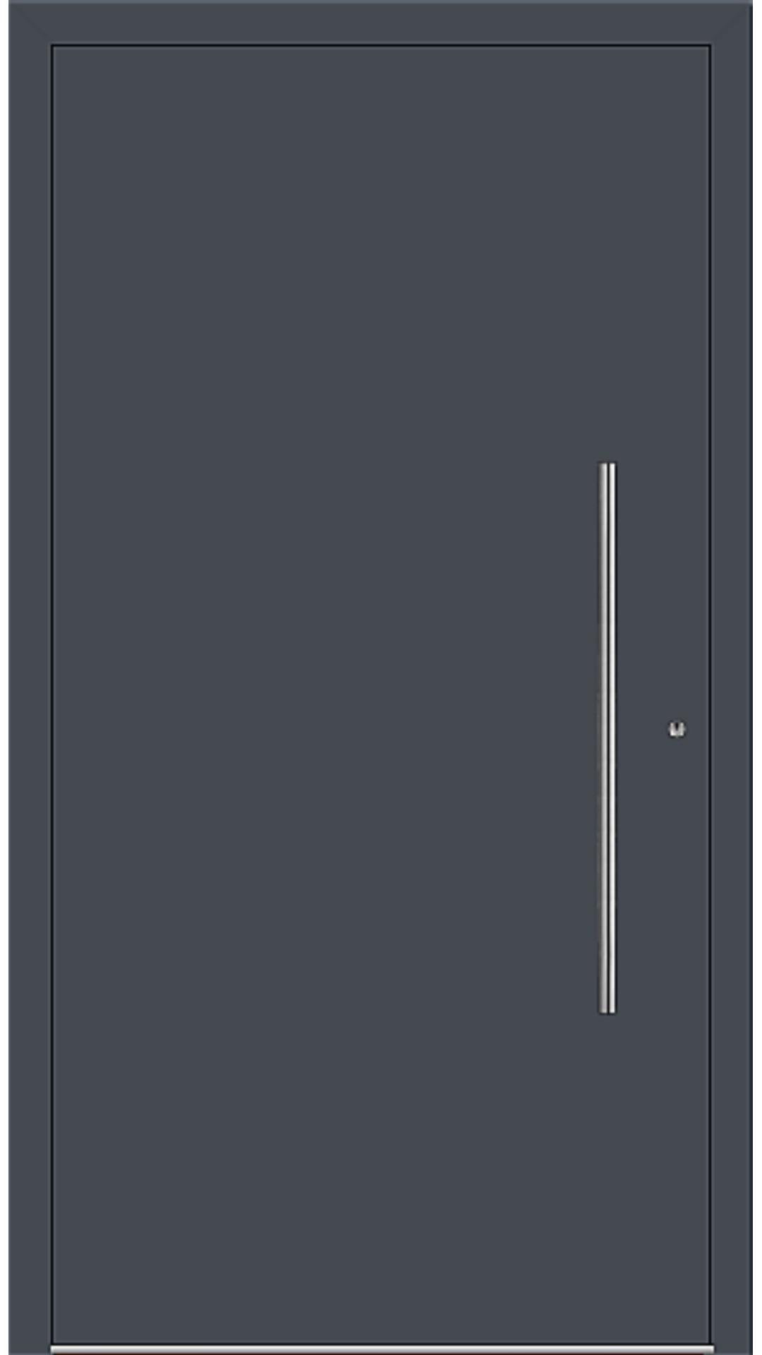 PaXentrée Aluminium Haustür M06001 graphitgrau