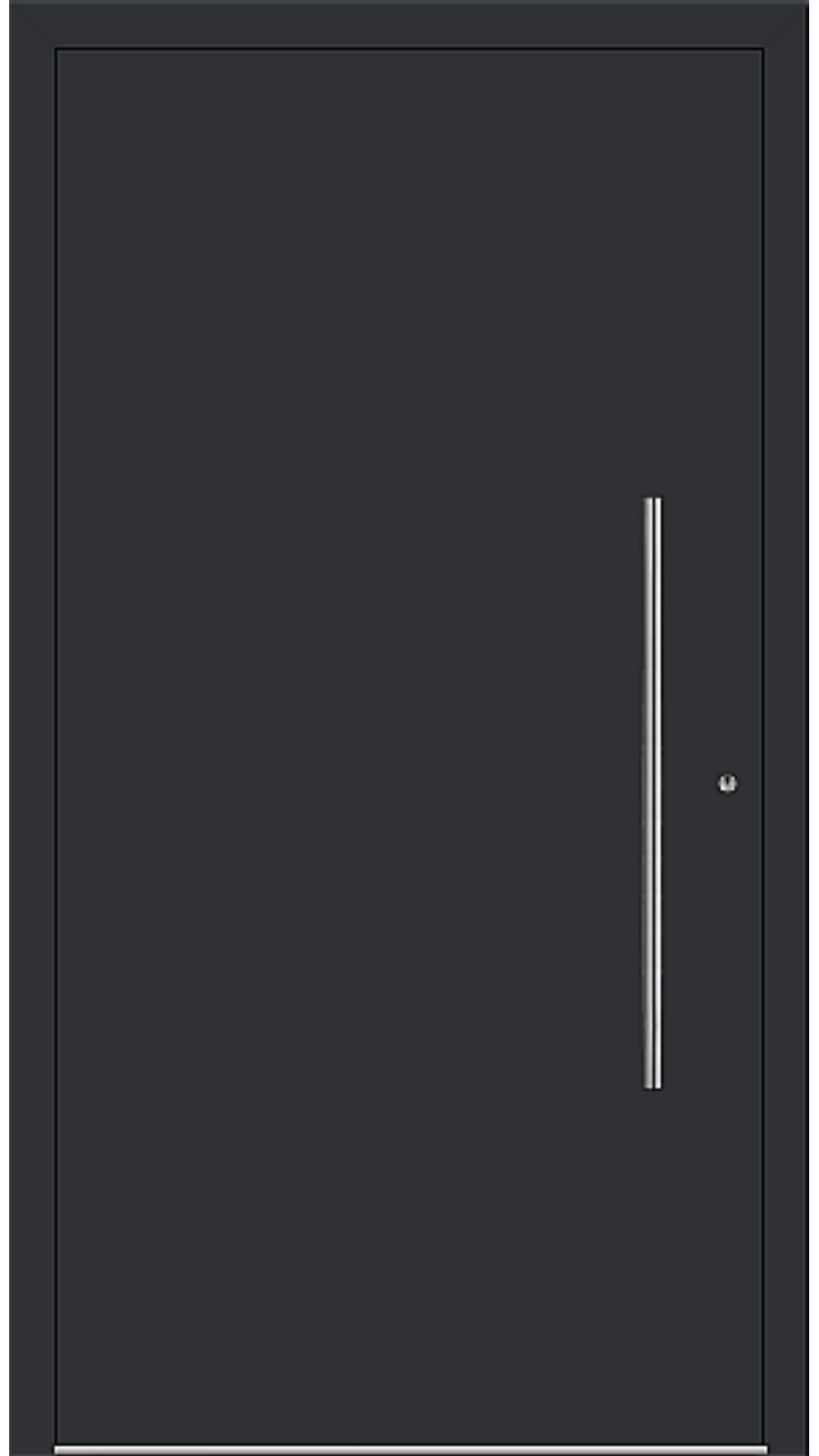 PaXentrée Aluminium Haustür M06001 schwarz