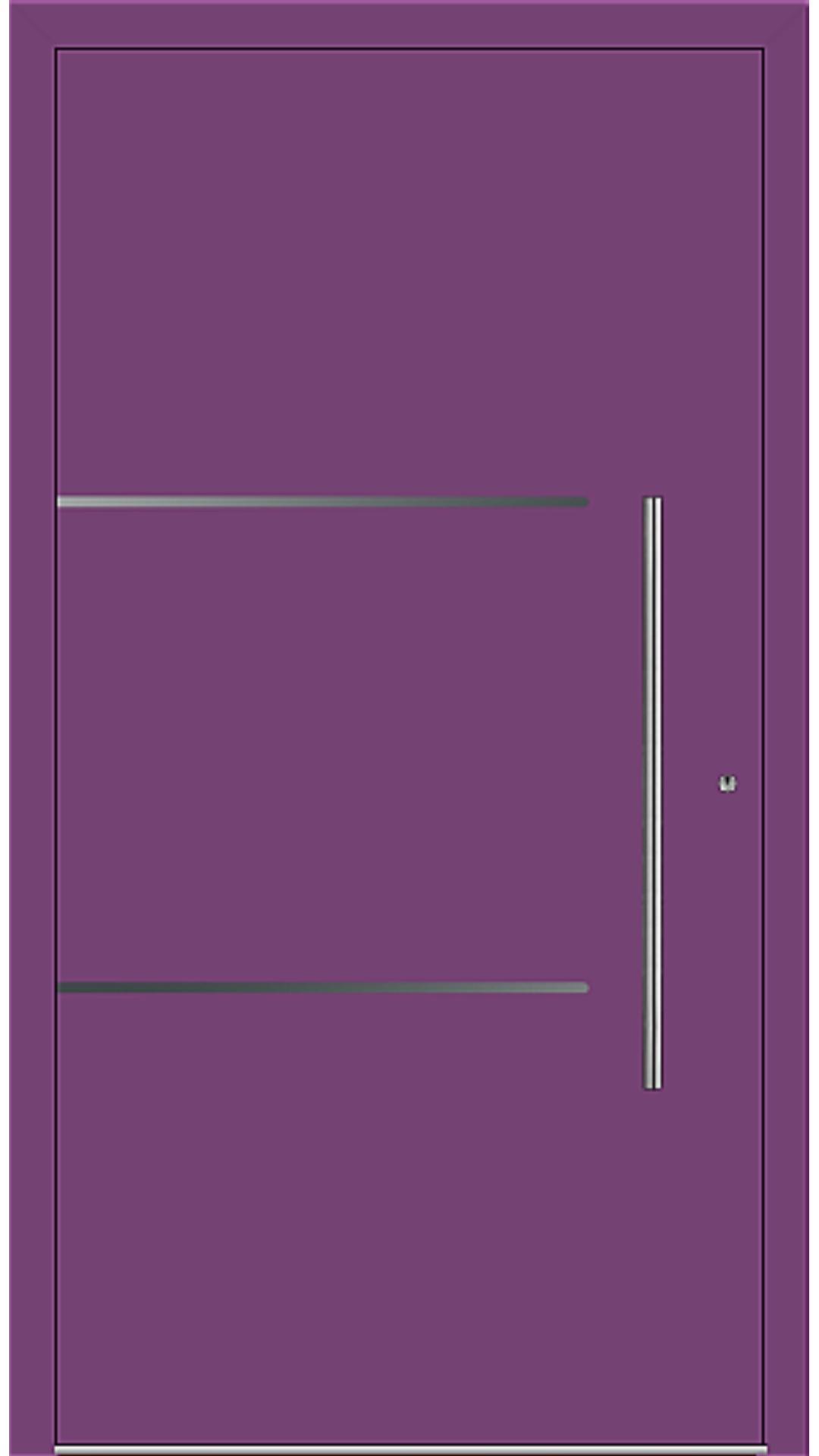 PaXentrée Aluminium Haustür M06205 singalviolett