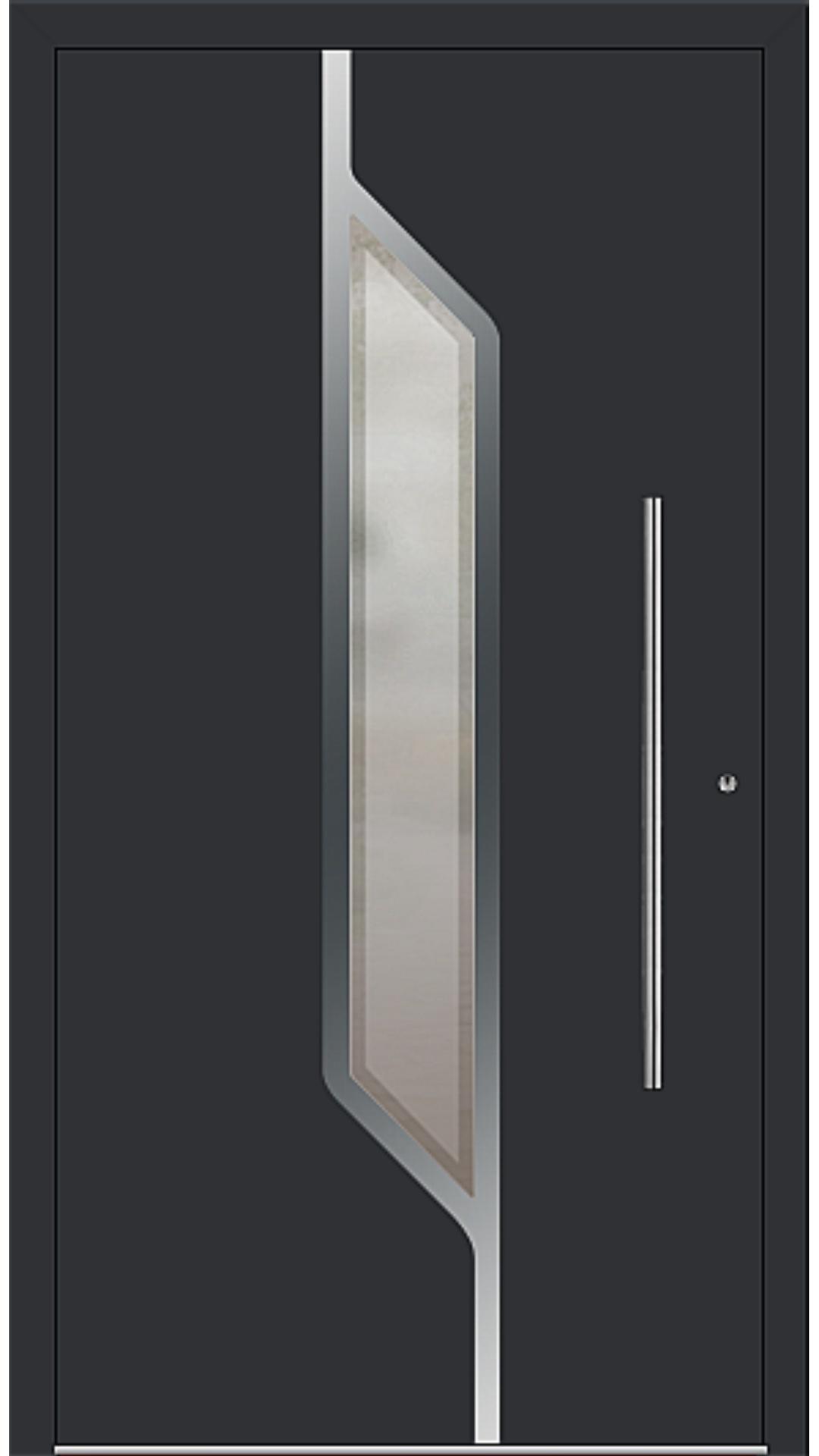 PaXentrée Aluminium Haustür M07120 schwarz