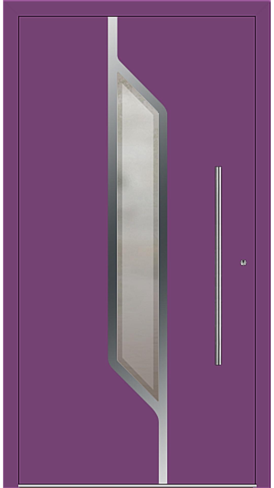 PaXentrée Aluminium Haustür M07120 singalviolett