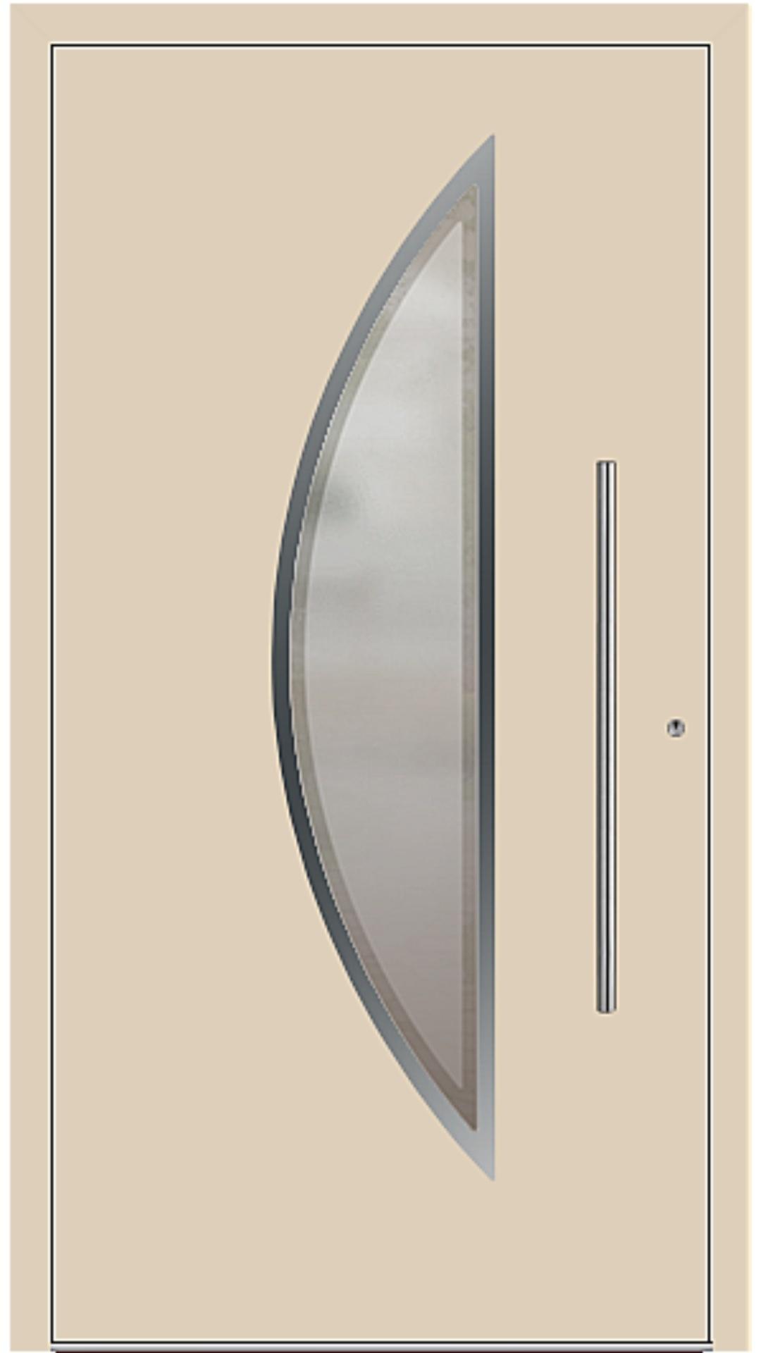 PaXentrée Aluminium Haustür M09111 beige