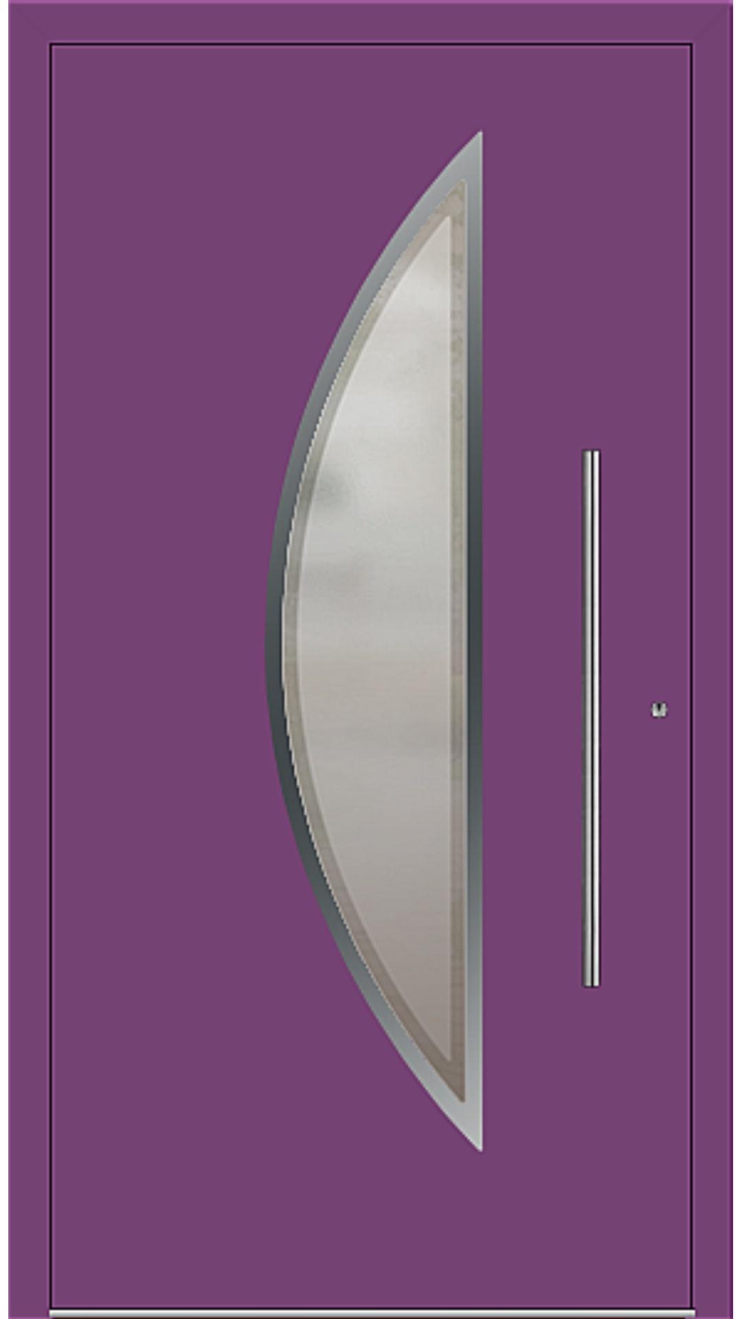 PaXentrée Aluminium Haustür M09111 singalviolett