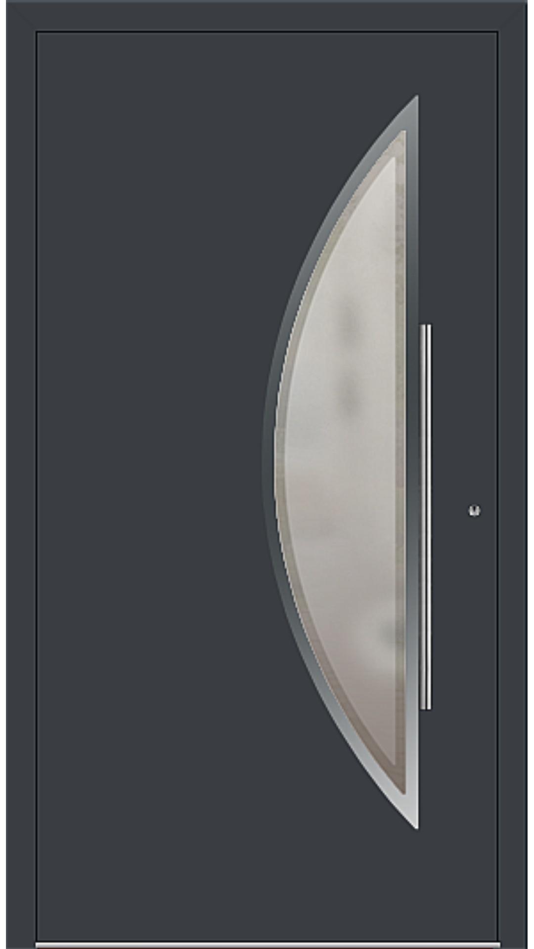 PaXentree Aluminium Haustür M09171 anthrazitgrau
