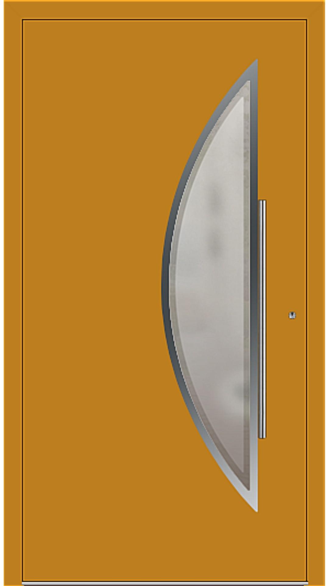 PaXentrée Aluminium Haustür M09171 honiggelb