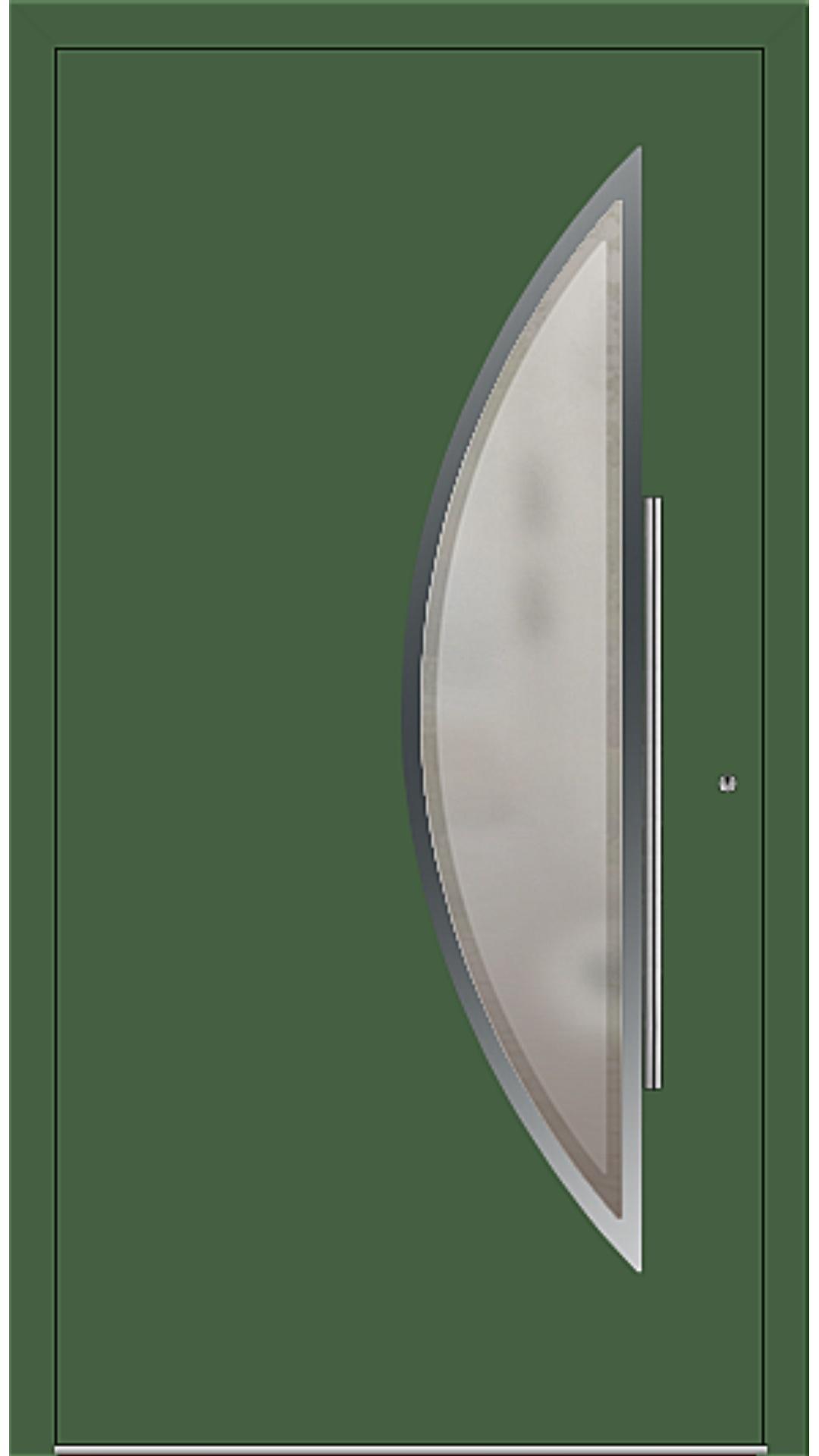 PaXentrée Aluminium Haustür M09171 laubgrün