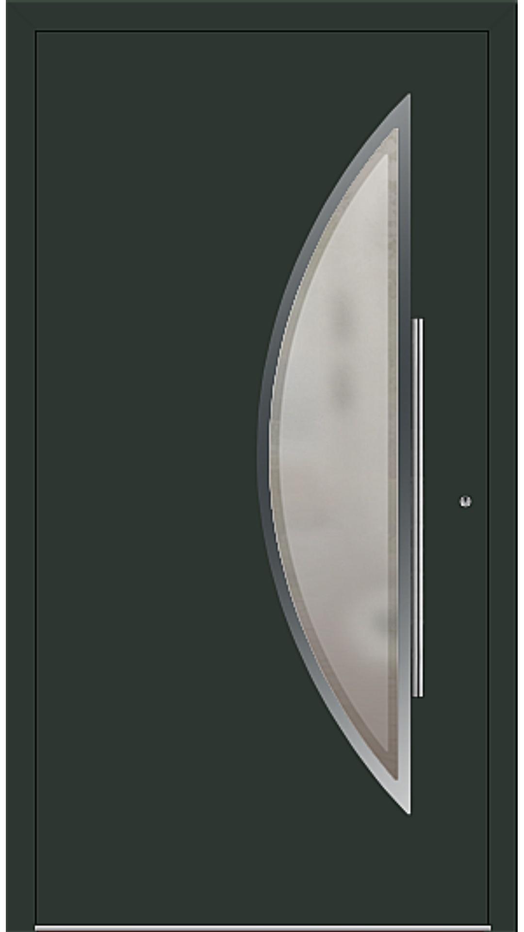 PaXentrée Aluminium Haustür M09171 tannengrün