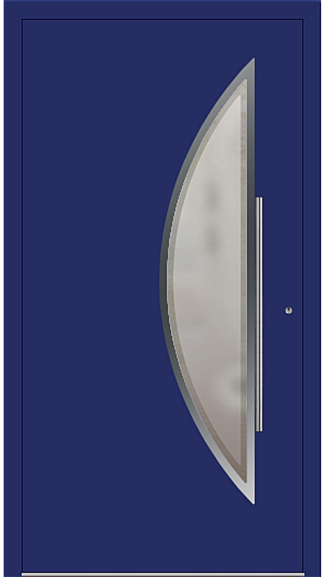 PaXentrée Aluminium Haustür M09171 ultramarinblau