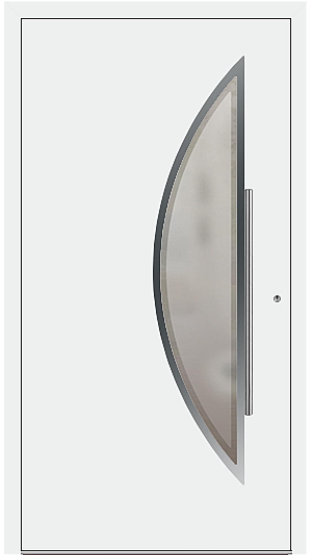 PaXentrée Aluminium Haustür M09171 weiß