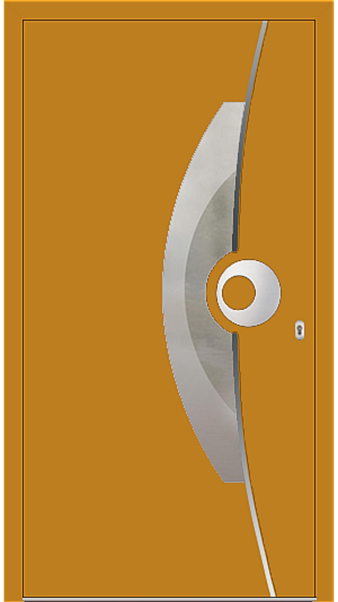 PaXentrée Aluminium Haustür M09521 honiggelb