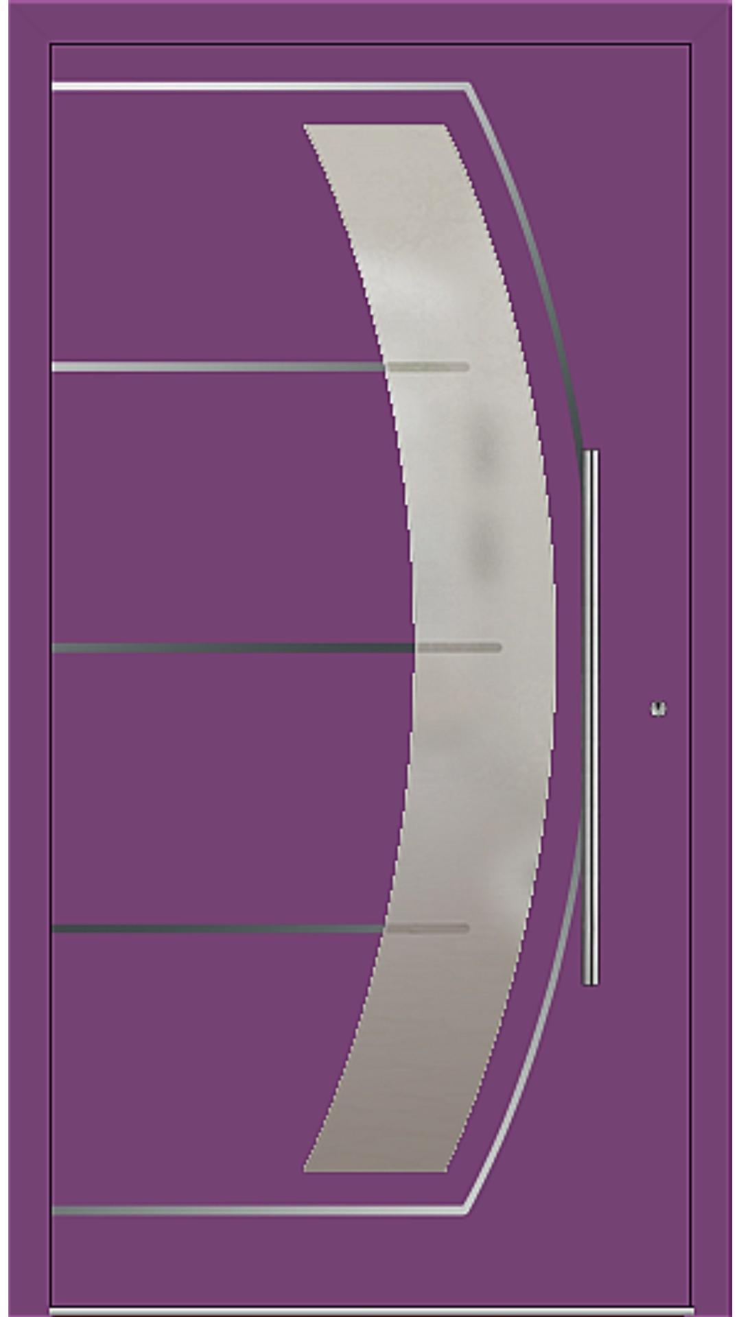 PaXentrée Aluminium Haustür M10201 singalviolett
