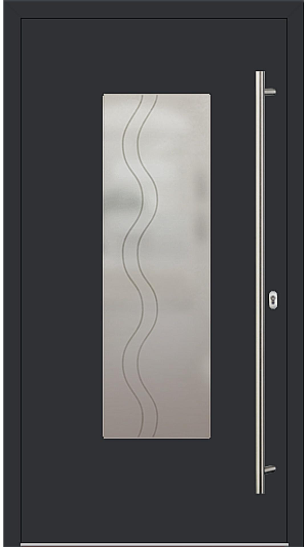 PaXentrée Aluminium Haustür M01220 schwarz