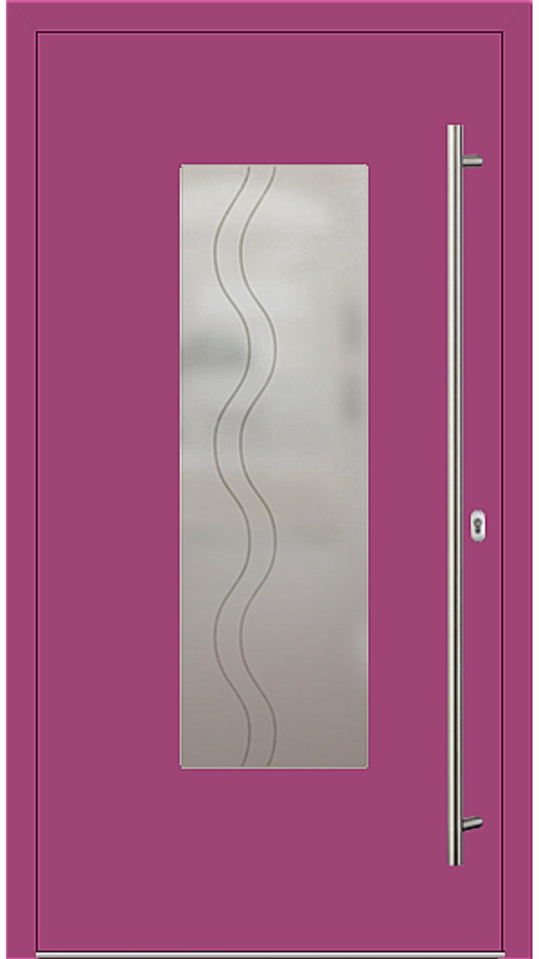PaXentrée Aluminium Haustür M01220 telemagenta